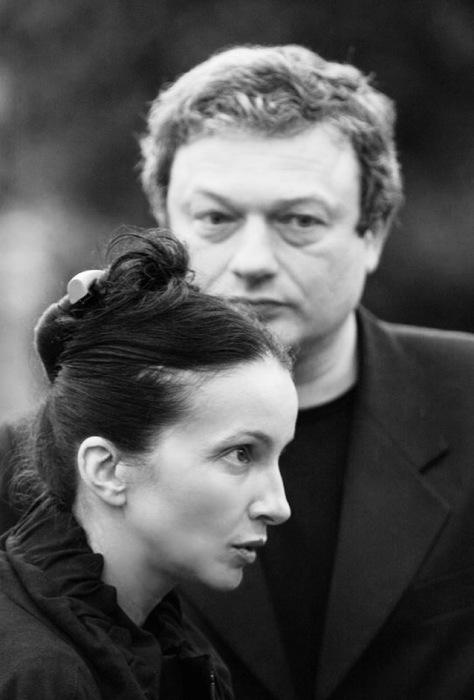 Алла Сигалова и Роман Козак. / Фото: www.snob.ru