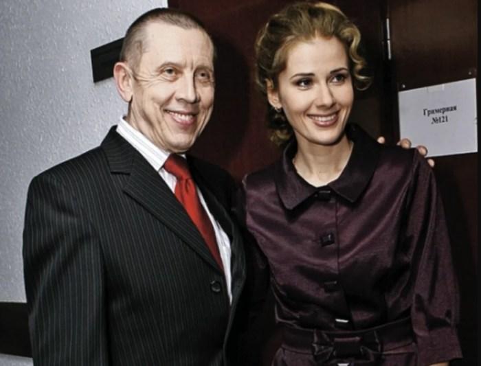 Валерий Золотухин и Ирина Линдт. / Фото: www.yandex.net