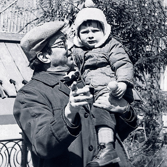 Никита Подгорный с дочерью Дарьей. / Фото: www.7days.ru