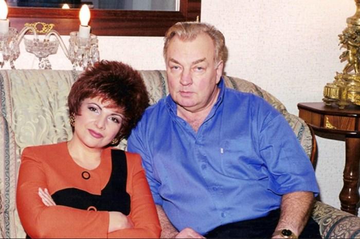 Роксана Бабаян и Михаил Державин. / Фото: www.starandstar.ru