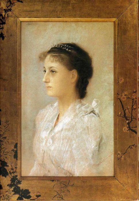 Эмилия Флёге в 17 лет. Портрет кисти Густава Климта. / Фото: www.pinterest.es