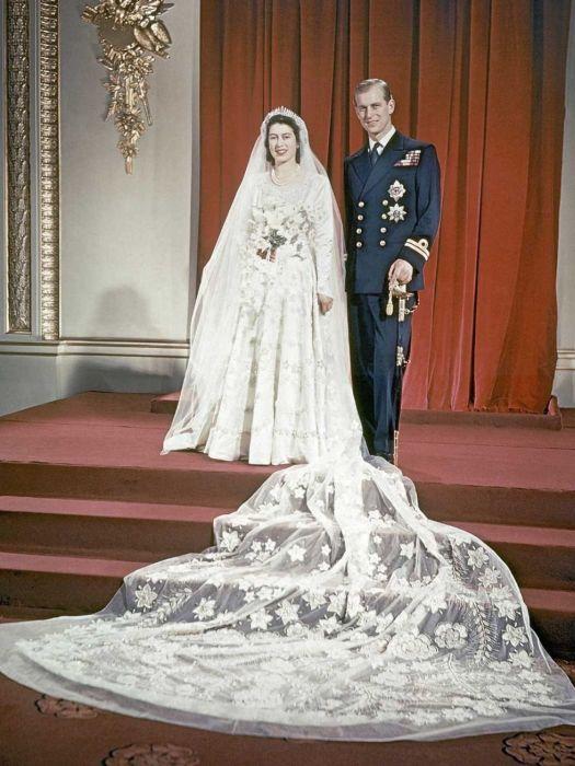 Свадьба принцессы Елизаветы и принца Филиппа. / Фото: www.look.tm