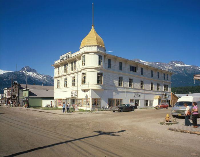 Отель «Golden North», Скагуэй, Аляска. / Фото: www.hauntin.gs