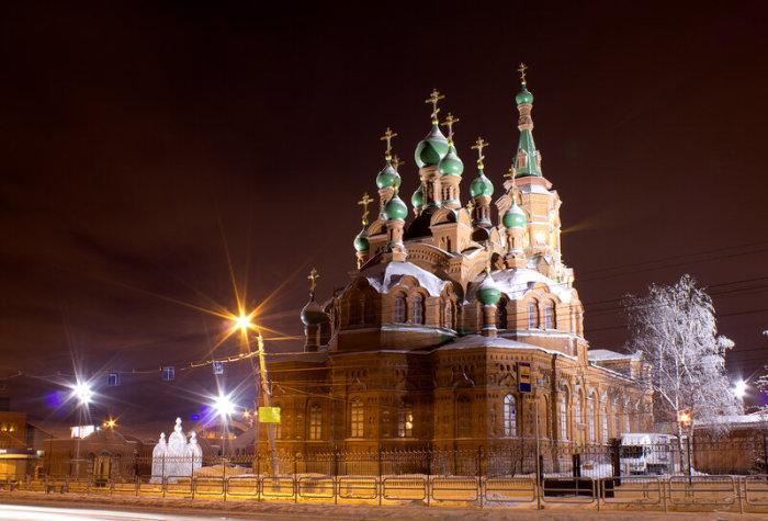 Храм Святой Троицы в Челябинске. / Фото: www.twitter.com