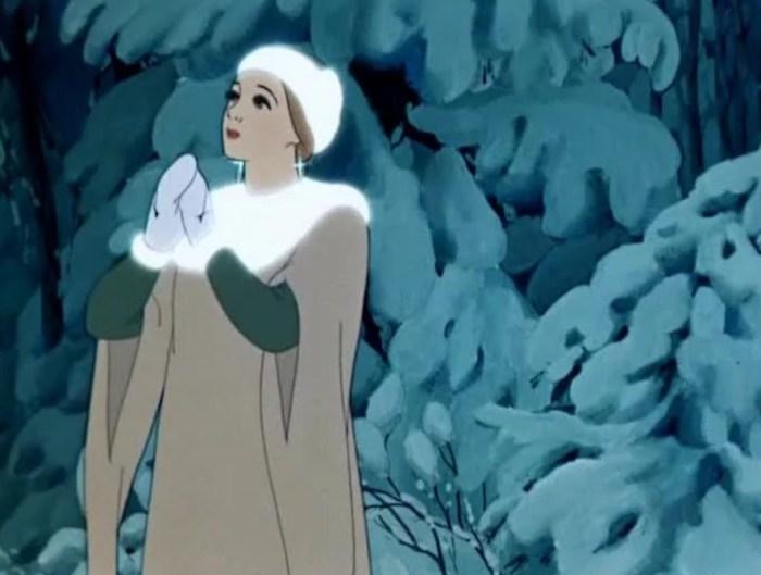 Кадр из мультфильма «Снегурочка». / Фото: www.yandex.net