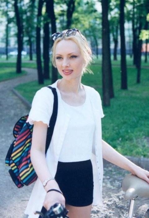 Елена Ксенофонтова в юности. / Фото: www.ksenofontova.ru