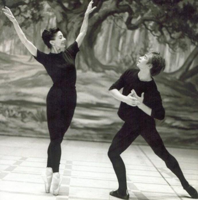 Марго Фонтейн и Рудольф Нуреев. / Фото: www.pinimg.com