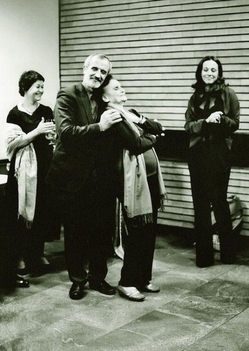 Галина Коновалова и Римас Туминас на репетиции. / Фото: www.7days.ru