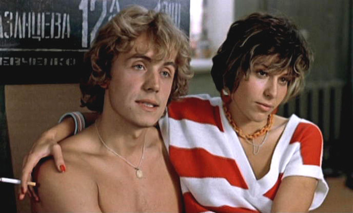 Андрей Соколов и Наталья Негода, кадр из фильма «Маленькая Вера». / Фото: www.woman.ru