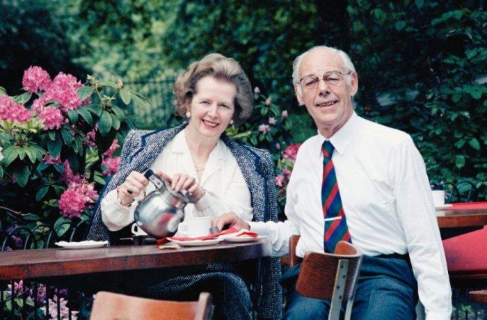 Маргарет и Дэнис Тэтчер. / Фото: www.livejournal.com
