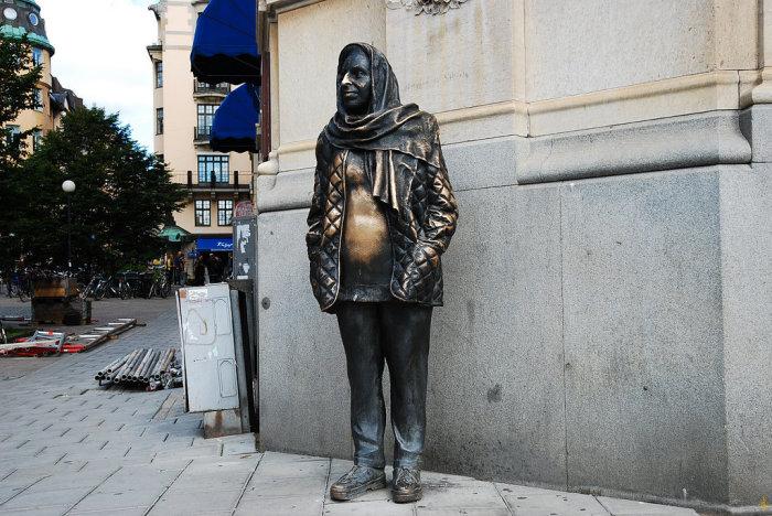 Памятник Маргарет Крок. / Фото: www.yandex.net