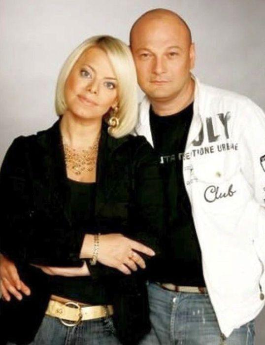 Яна Поплавская и Сергей Гинзбург. / Фото: www.look-news.ru