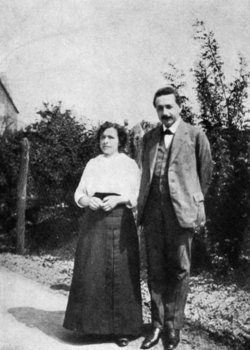 Альберт Эйнштейн и Милева Марич. / Фото: www.nwmgroups.hu