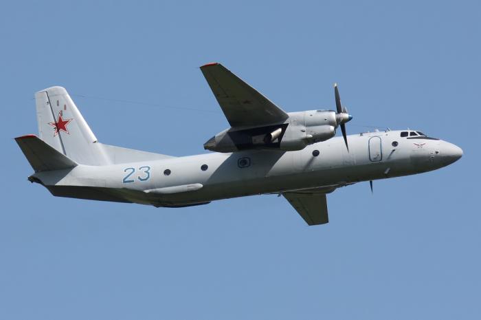 Ан-26. / Фото: www.wikipedia.org