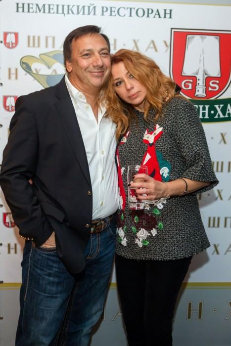 Алёна Апина и Александр Иратов. / Фото: www.woman.ru