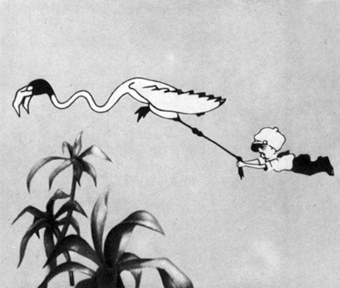 Кадр из мультфильма «Сенька-африканец». / Фото: www.culture.ru