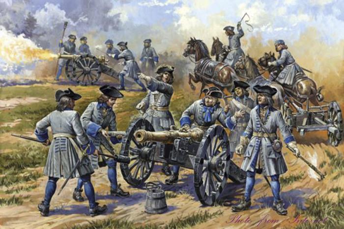 Они всюду были неразлучны, даже во время военных походов, в которых принимал участие Александра Тучкова. / Фото: www.proza.ru
