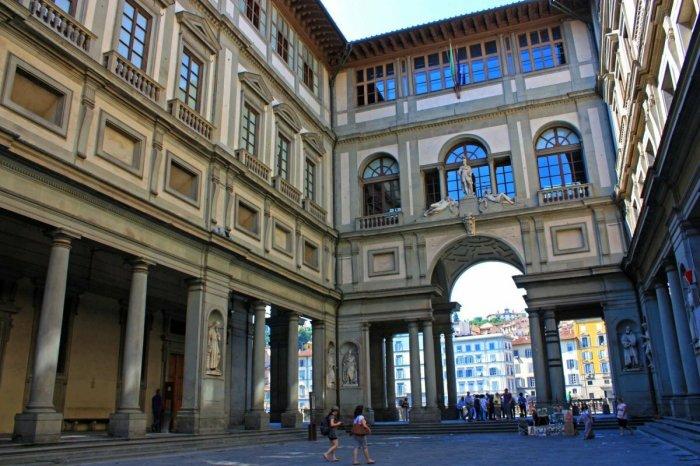Музей Уффици во Флоренции. / Фото: www.yandex.net