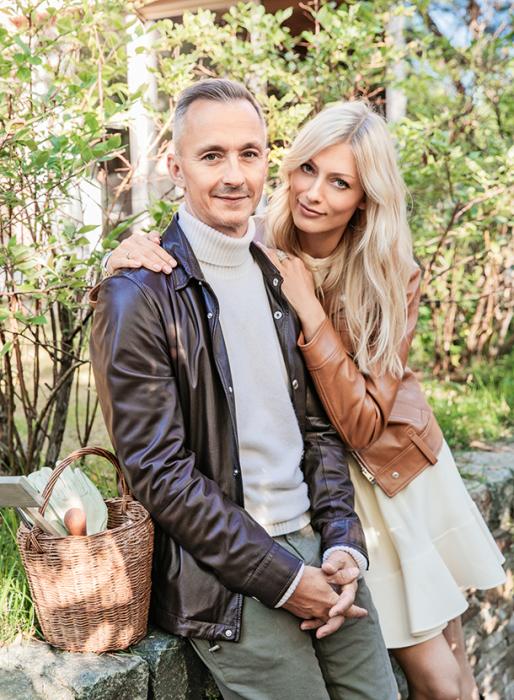 Степан Михалков и Елизавета Ильина. / Фото: www.hellomagazine.com