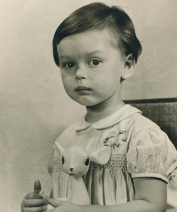 Ирина Безрукова в детстве. / Фото: www.games-of-thrones.ru
