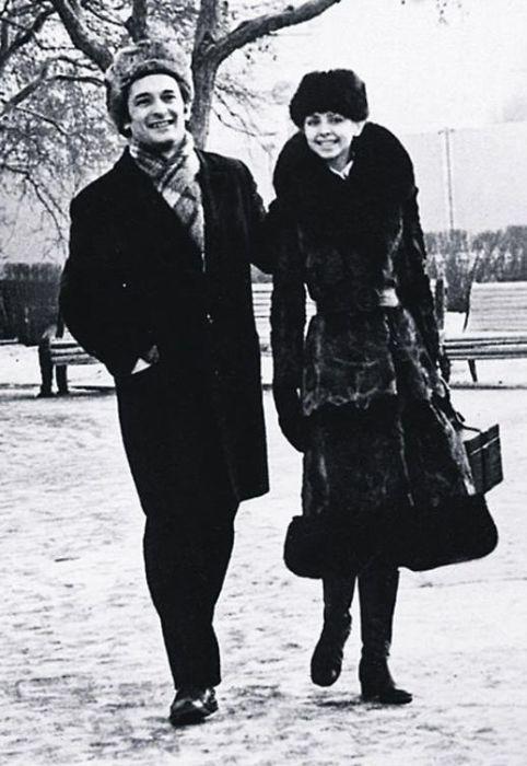 Людмила Семеняка и Михаил Лавровский. / Фото: www.liveinternet.ru