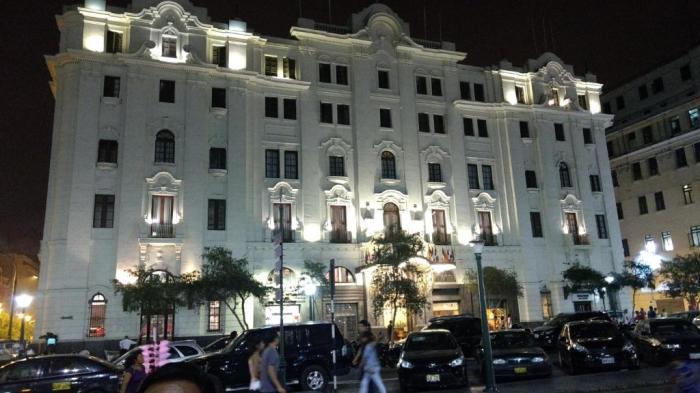Гранд-отель «Bolivar», Серкадо-де-Лима, Перу. / Фото: www.tripmapia.ru