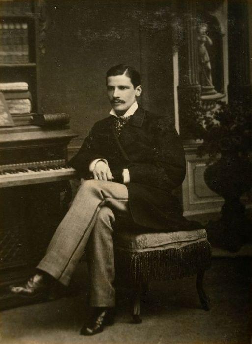 Пётр Столыпин в 1881 году. / Фото: www.blogspot.com