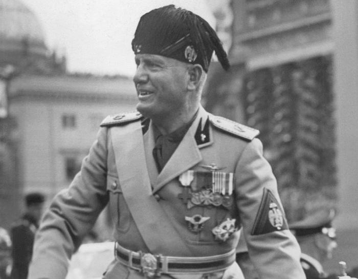 Бенито Муссолини. / Фото: www.tsargrad.tv