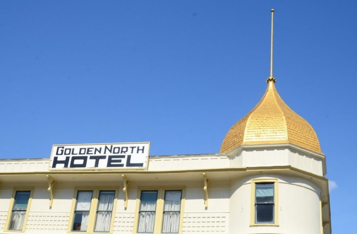 Отель «Golden North», Скагуэй, Аляска. / Фото: www.atlasobscura.com