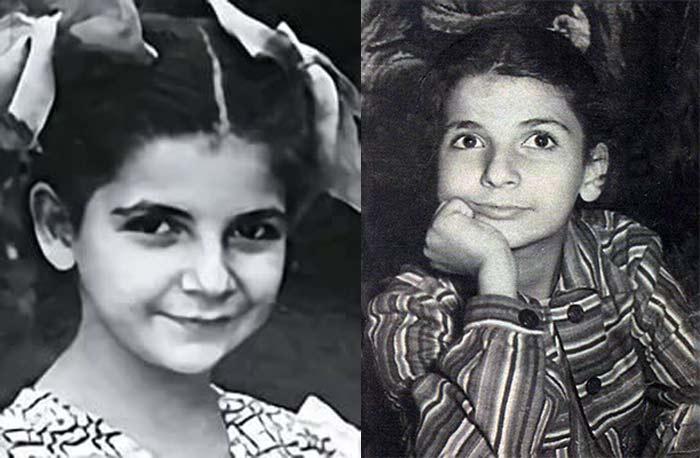 Роксана Бабаян в детстве. / Фото: www.ya-znamenit.ru
