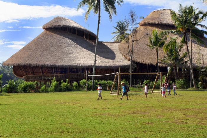 Green School, Бали. / Фото: www.fubiz.net