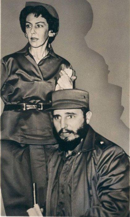 Селия Санчес и Фидель Кастро. / Фото: www.fotostrana.ru