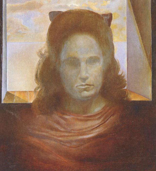 «Портрет Галы против света». / Фото: www.artchive.ru