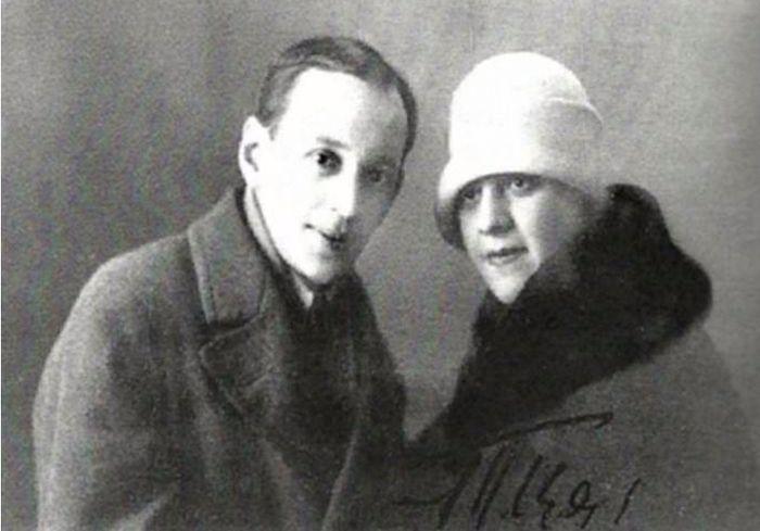 Борис Фомин и Тамара Церетели. / Фото: www.liveinternet.ru