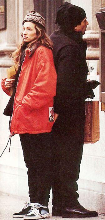 Кэролин Бессетт и Джон Кеннеди-младший. / Фото: www.pinimg.com