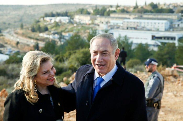 Биньямин Нетаньяху и Сара Бен-Арци. / Фото: www.newsweek.com