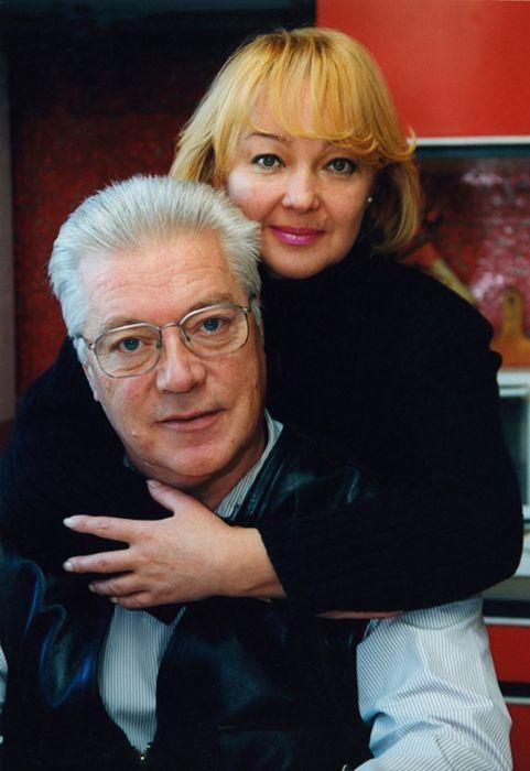 Евгений Жариков и Наталья Гвоздикова. / Фото: www.pinimg.com