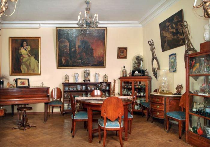 Музей-квартира Сергея Образцова. / Фото: www.puppet.ru