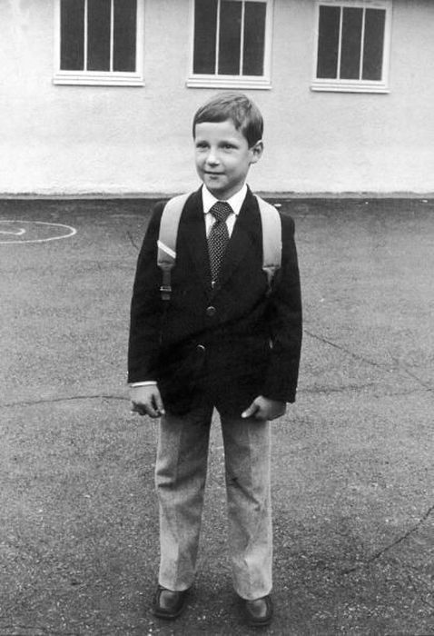 Принц Хокон в детстве. / Фото: www.pinimg.com