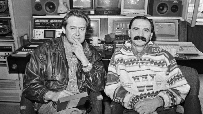 Илья Олейников и Юрий Стоянов. / Фото: www.gazeta.ru