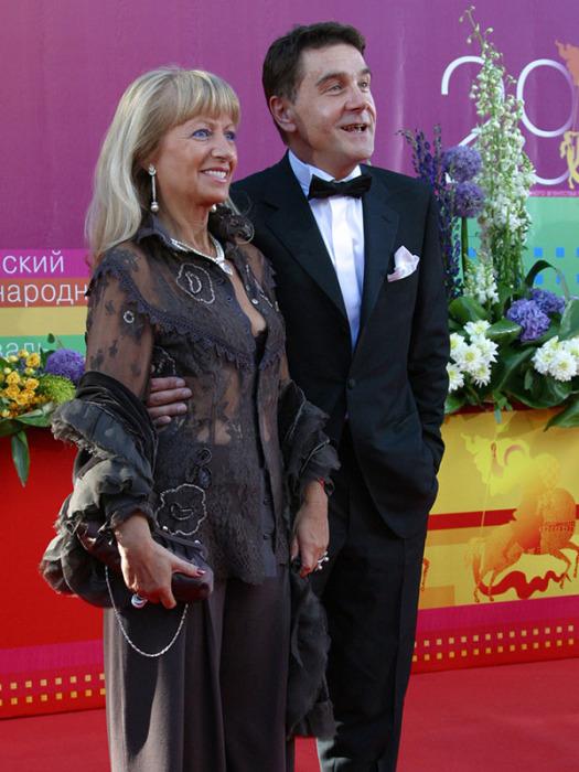 Сергей и Елена Маковецкие. / Фото: www.tvc.ru