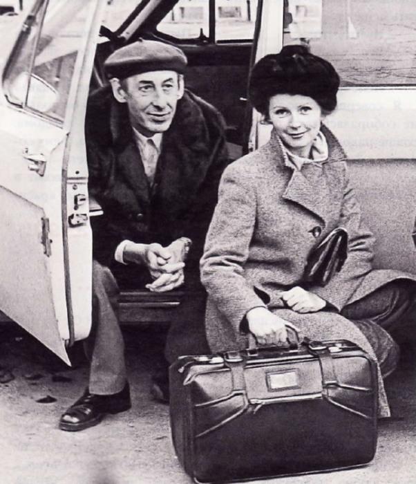 Владимир Басов и Валентина Титова. / Фото: www.kino-teatr.ru