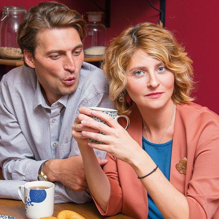 Иван Колесников и Лина Раманаускайте. / Фото: www.7days.ru
