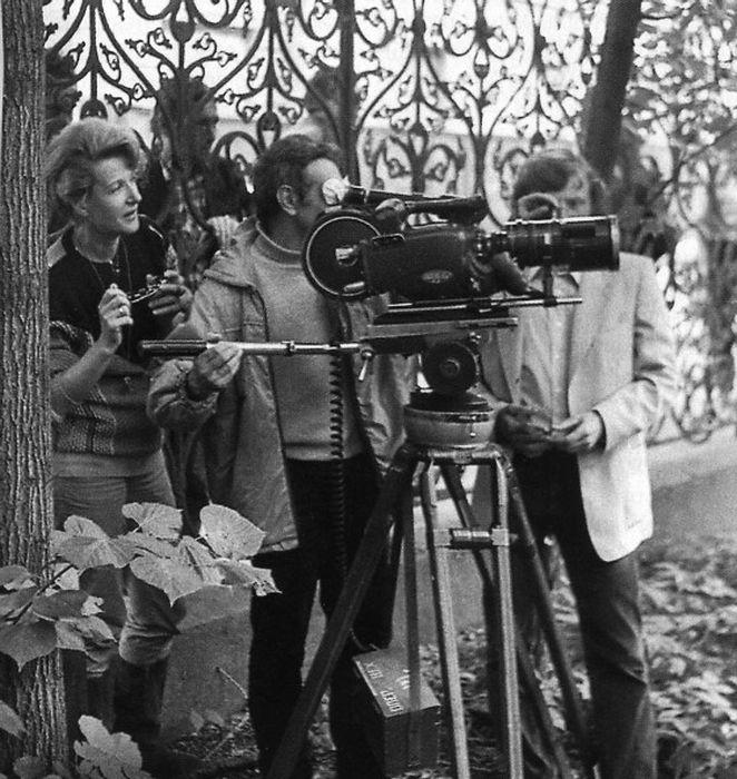 Во время съёмок «Гардемаринов». / Фото: www.kinoistoria.ru