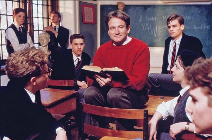 Кадр из фильма «Общество мёртвых поэтов», 1989 год. / Фото: www.yandex.net
