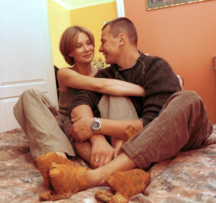 Дарья Михайлова и Владислав Галкин. / Фото: www.teleprogramma.pro