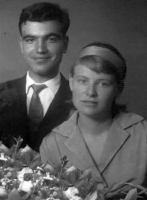 Геннадий Шпаликов и Наталья Рязанцева. / Фото: www.blogspot.com