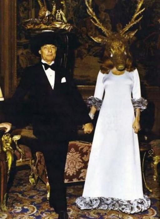 Хозяева бала: Ги де Ротшильд и Мари-Хелен де Ротшильд. / Фото: www.cameralabs.org