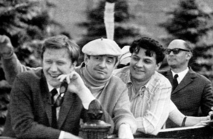 Андрей Миронов, Марк Захаров, Александр Ширвиндт. / Фото: www.libmir.com