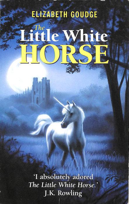«Маленькая белая лошадка в серебряном свете луны», Элизабет Гоудж. / Фото: www.blogspot.com